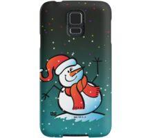 Snowman Waving Hello Samsung Galaxy Case/Skin