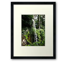 Waterfall in Compton Acres Framed Print