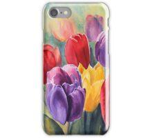 Rainbow Tulips iPhone case iPhone Case/Skin
