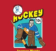 Jacques Plante by thatjessjohnson