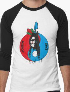 The warrior and the spirit Men's Baseball ¾ T-Shirt