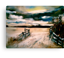 Silent Portal Canvas Print