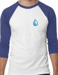 Cascade Badge (Pokemon Gym Badge) Men's Baseball ¾ T-Shirt