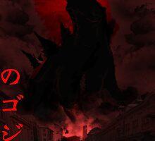 Godzilla by Crisizzal
