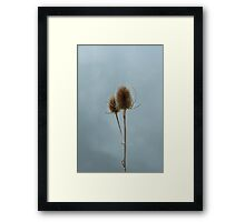 Single and Happy Framed Print