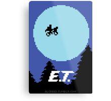 8-Bit E.T. Metal Print
