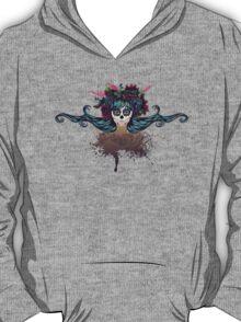 Sugar Skull Girl in Flower Crown 2 T-Shirt