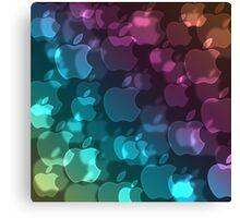 Apple Bokeh  Canvas Print