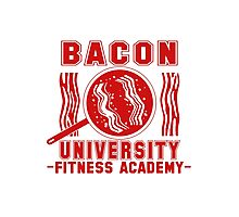 Bacon University Photographic Print