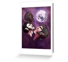 Teen Wolf Moon Greeting Card