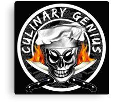 Skull Chef 4: Culinary Genius 2 Canvas Print