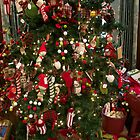elf tree and toys by Shymala Dason