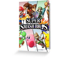 Smash Bros Greeting Card