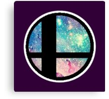 Galactic Smash Bros. Final destination Canvas Print