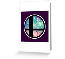 Galactic Smash Bros. Final destination Greeting Card