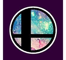 Galactic Smash Bros. Final destination Photographic Print