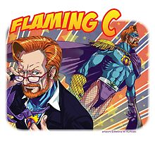 FLAMING C - Flaming Ginger of JUSTICE! by Bettina Kurkoski
