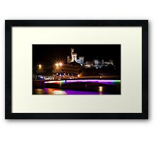 Inverness Castle by Night Framed Print