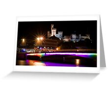 Inverness Castle by Night Greeting Card
