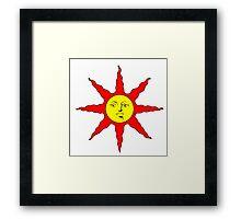 Praise the Sun!!! Framed Print
