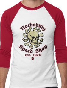 Rockabilly Speed Shop Men's Baseball ¾ T-Shirt