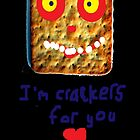Crackers For You iPhone Case by Steve
