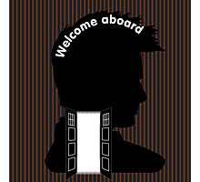 Welcome Aboard (David Tennant) Photographic Print