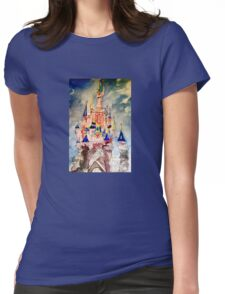 Princess castle Womens Fitted T-Shirt