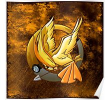 Hunger Phoenix Pokeball Poster