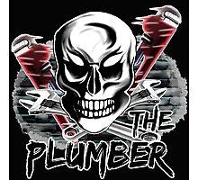 """Plumber Skull 4: """"The Plumber"""" Photographic Print"""