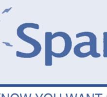 Spank Me Sticker