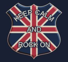 Keep Calm And Rock On by mamza
