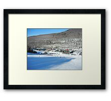 A look at the governors lodge Framed Print