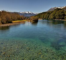 River View, Bariloche by Peter Hammer