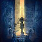 Heroquest Glorantha Core Book by Jon Hodgson