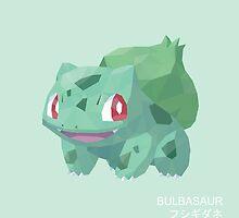 Bulbasaur Low Poly by meowzilla