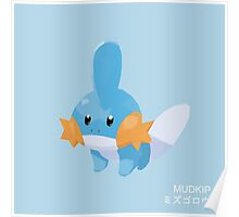 Mudkip Low Poly Poster