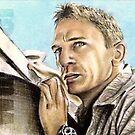 Daniel Craig miniature by wu-wei