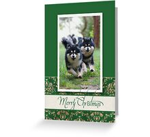 Christmas Card No 20 Greeting Card