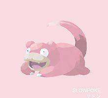 Slowpoke Low Poly by meowzilla