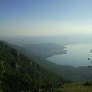View from Galicica, Macedonia by Kristina R.