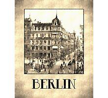Berlin retro antique Unter den Linden grungy Photographic Print