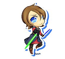 Anakin Skywalker chibi Photographic Print
