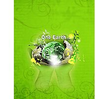 Save Our Planet Photographic Print