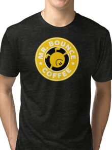 Mr. Bounce Coffee Tri-blend T-Shirt