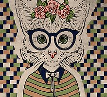 She, the hipster cat by AdarvePhtcllage