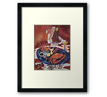 A Fun Night Out Framed Print