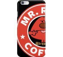 Mr. Rude Coffee iPhone Case/Skin