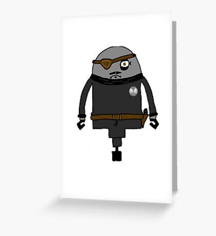 Nick Furious Greeting Card