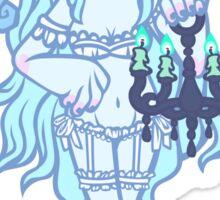 Werepop - Chandelier Ghost Girl Sticker